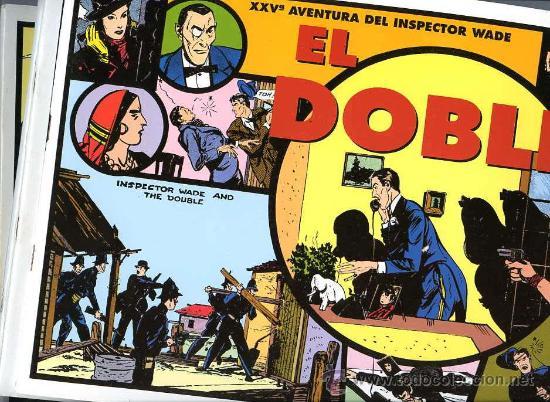 INSPECTOR WADE - LOTE 13 ALBUMES - TIRAS DIARIAS - PERIODO 1935-1941 - MAGERIT 1995-2000 (Tebeos y Comics - Magerit - Otros)