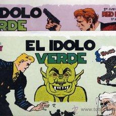 Cómics: RED BARRY - LOTE 2 ALBUMES - EL IDOLO VERDE - 1ª Y 2ª PARTE - PERIODO 1934 - EUROCLUB MAGERIT 1995. Lote 22799603