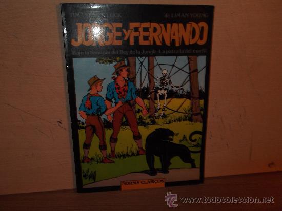 JORGE Y FERNANDO - NORMA CLASICOS - TOMO 1 (Tebeos y Comics - Magerit - Jorge y Fernando)