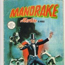 Cómics: COMIC, MANDRAKE, MERLIN EL MAGO, Nº 2, EDICIONES VERTICE,ENVIO GRATIS . Lote 29656804