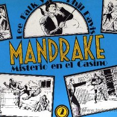 Cómics: MANDRAKE Nº2 (MISTERIO EN EL CASINO) LEE FALK & PHIL DAVIS. Lote 31174379