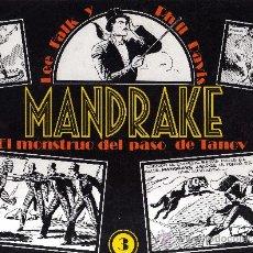 Cómics: MANDRAKE Nº3 (EL MONSTRUO DEL PASO DE TANOV) LEE FALK & PHIL DAVIS. Lote 31174416