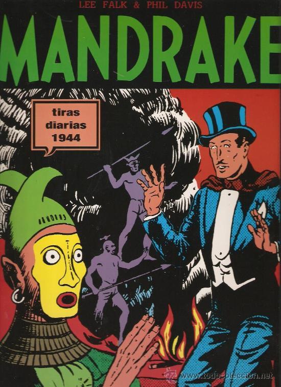 MANDRAKE - TIRAS DIARIAS 1944 - LEE FALK & PHIL DAVIES - 72 PAGS (Tebeos y Comics - Magerit - Mandrake)