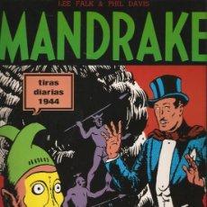 Cómics: MANDRAKE - TIRAS DIARIAS 1944 - LEE FALK & PHIL DAVIES - 72 PAGS. Lote 34183449