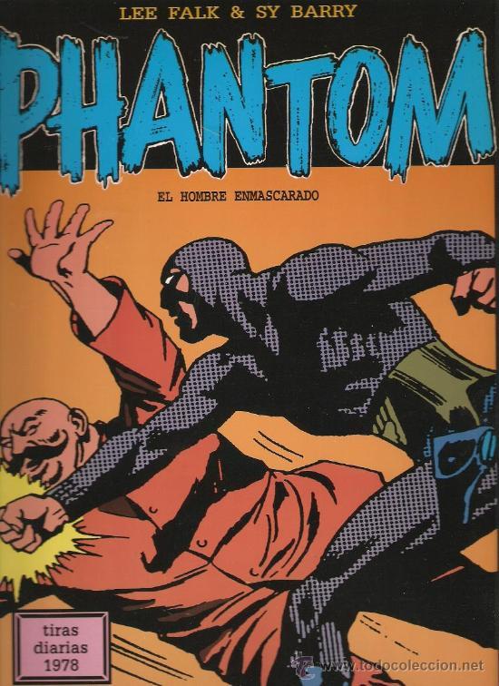 PHANTOM - EL HOMBRE ENMASCARADO - TIRAS DIARIAS 1978 - LEE FALK & SY BARRY (Tebeos y Comics - Magerit - Phantom)