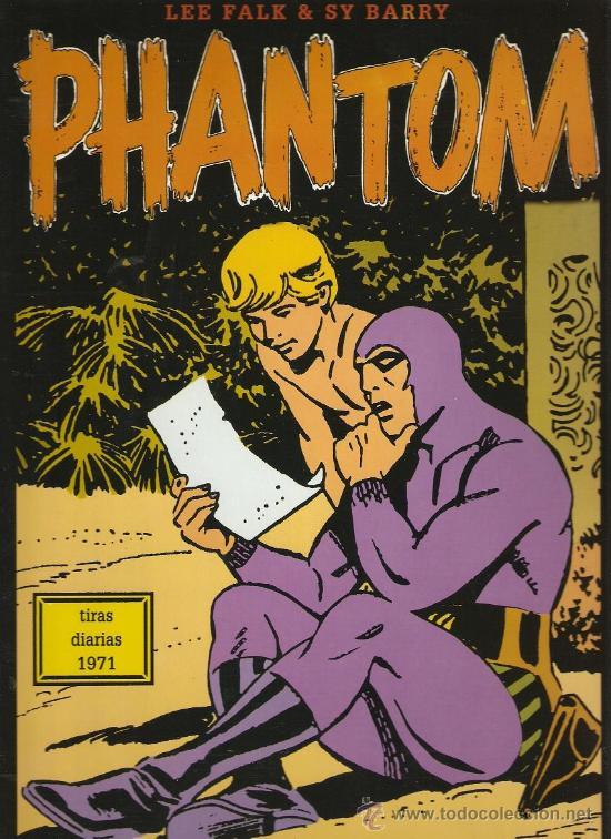 PHANTOM - EL HOMBRE ENMASCARADO - TIRAS DIARIAS 1971 - LEE FALK & SY BARRY (Tebeos y Comics - Magerit - Phantom)