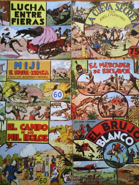 JORGE Y FERNANDO : 16 COMICS EDICIÓN FACSIMIL (Tebeos y Comics - Magerit - Jorge y Fernando)