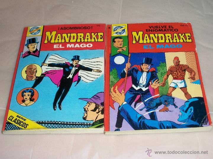MANDRAKE EL MAGO Nº: 33 Y 38 (Tebeos y Comics - Magerit - Mandrake)