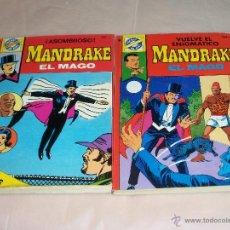 Cómics: MANDRAKE EL MAGO Nº: 33 Y 38. Lote 39722195