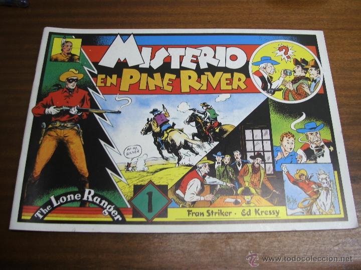 THE LONE RANGER: MISTERIO EN PINE RIVER / EUROCLUB MAGERIT (Tebeos y Comics - Magerit - Otros)