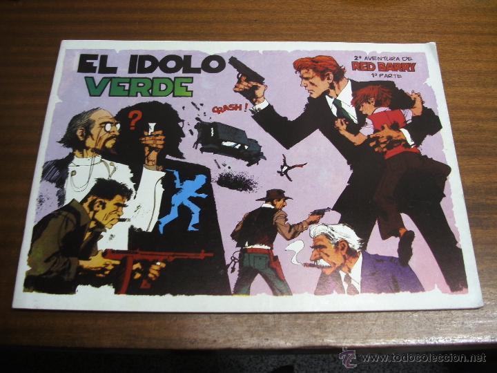 EL ÍDOLO VERDE: RED BARRY 2ª AVENTURA 1ª PARTE / EUROCLUB MAGERIT (Tebeos y Comics - Magerit - Otros)