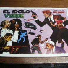 Cómics: EL ÍDOLO VERDE: RED BARRY 2ª AVENTURA 1ª PARTE / EUROCLUB MAGERIT. Lote 41298258