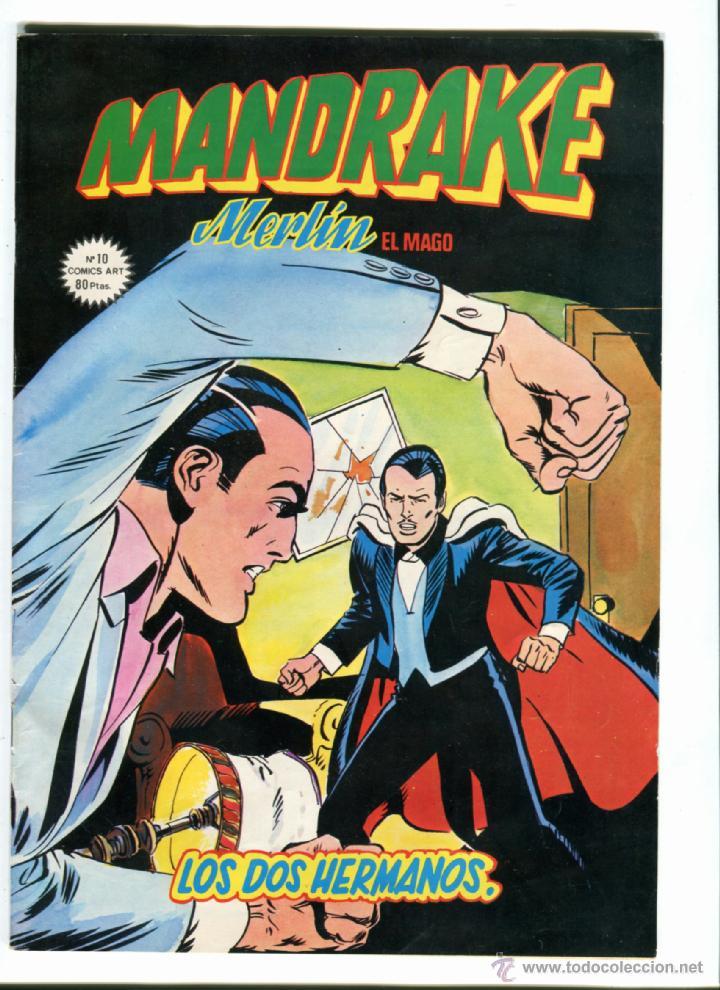 MANDRAKE Nº 10 MERLIN EL MAGO AÑO 1980 MUY NUEVO (Tebeos y Comics - Magerit - Mandrake)