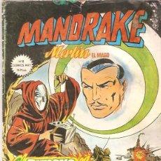 Cómics: MANDRAKE MERLIN EL MAGO, Nº 6 EL RETORNO DEL CUBO MAGICO COMICS ART EDICIONES VERTICE. Lote 41073171