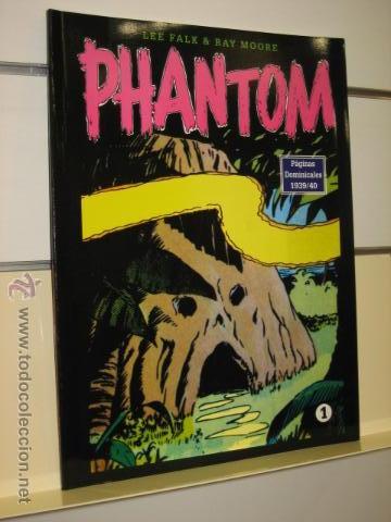 PHANTOM HOMBRE ENMASCARADO TOMO Nº 1 PAGINAS DOMINICALES 1939/40 MAGERIT OFERTA (Tebeos y Comics - Magerit - Phantom)