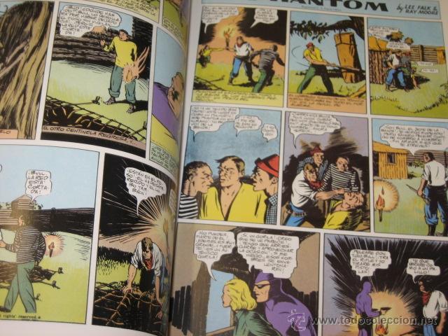 Cómics: PHANTOM HOMBRE ENMASCARADO TOMO Nº 1 PAGINAS DOMINICALES 1939/40 MAGERIT OFERTA - Foto 2 - 44649723
