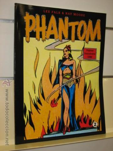 PHANTOM HOMBRE ENMASCARADO TOMO Nº 2 PAGINAS DOMINICALES 1940 MAGERIT OFERTA (Tebeos y Comics - Magerit - Phantom)