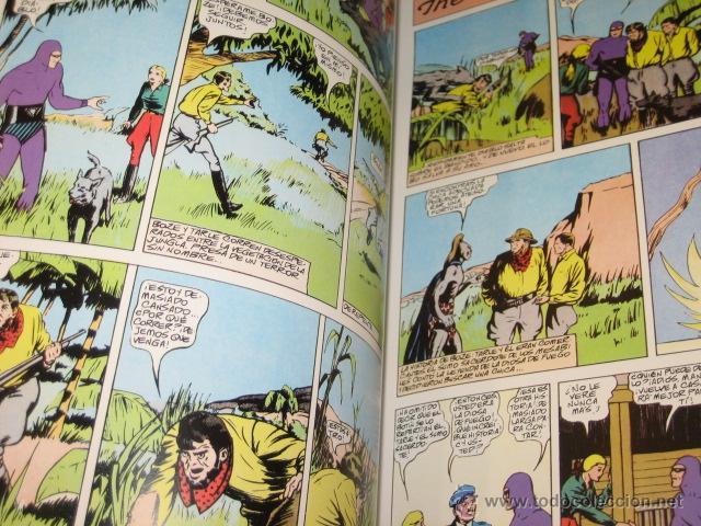Cómics: PHANTOM HOMBRE ENMASCARADO TOMO Nº 2 PAGINAS DOMINICALES 1940 MAGERIT OFERTA - Foto 3 - 43448748