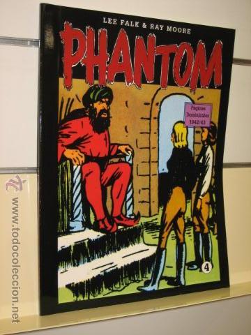 PHANTOM HOMBRE ENMASCARADO TOMO Nº 4 PAGINAS DOMINICALES 1942/43 MAGERIT OFERTA (Tebeos y Comics - Magerit - Phantom)