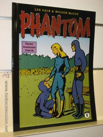 PHANTOM HOMBRE ENMASCARADO TOMO Nº 6 PAGINAS DOMINICALES 1944/45 MAGERIT OFERTA (Tebeos y Comics - Magerit - Phantom)