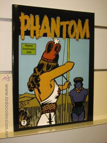 PHANTOM HOMBRE ENMASCARADO TOMO Nº 7 PAGINAS DOMINICALES 1945 MAGERIT OFERTA (Tebeos y Comics - Magerit - Phantom)