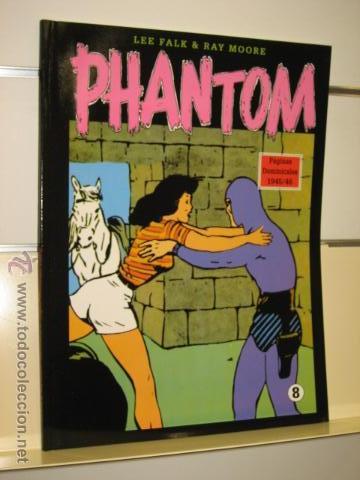 PHANTOM HOMBRE ENMASCARADO TOMO Nº 8 PAGINAS DOMINICALES 1945/46 MAGERIT OFERTA (Tebeos y Comics - Magerit - Phantom)