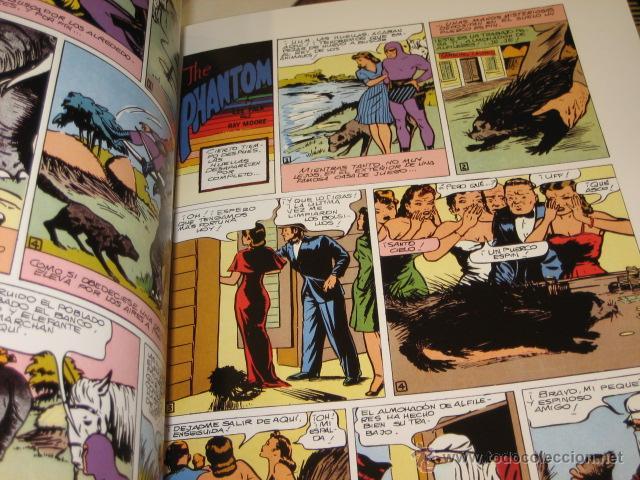Cómics: PHANTOM HOMBRE ENMASCARADO TOMO Nº 8 PAGINAS DOMINICALES 1945/46 MAGERIT OFERTA - Foto 2 - 163743500