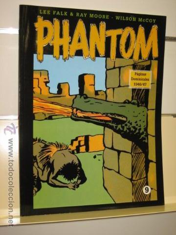 PHANTOM HOMBRE ENMASCARADO TOMO Nº 9 PAGINAS DOMINICALES 1946/47 MAGERIT OFERTA (Tebeos y Comics - Magerit - Phantom)