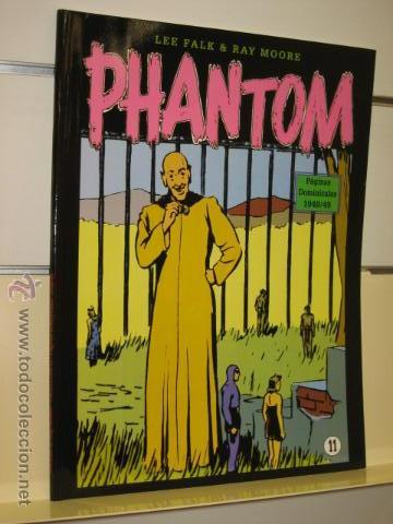 PHANTOM HOMBRE ENMASCARADO TOMO Nº 11 PAGINAS DOMINICALES 1948/49 MAGERIT OFERTA (Tebeos y Comics - Magerit - Phantom)