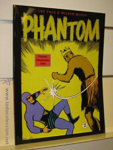 PHANTOM HOMBRE ENMASCARADO TOMO Nº 13 PAGINAS DOMINICALES 1950 MAGERIT OFERTA (Tebeos y Comics - Magerit - Phantom)