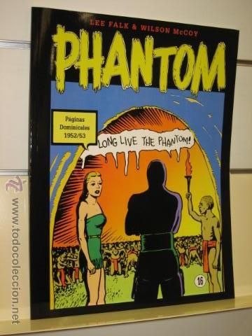 PHANTOM HOMBRE ENMASCARADO TOMO Nº 16 PAGINAS DOMINICALES 1952/53 MAGERIT OFERTA (Tebeos y Comics - Magerit - Phantom)
