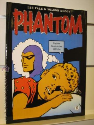 PHANTOM HOMBRE ENMASCARADO TOMO Nº 17 PAGINAS DOMINICALES 1953/54 MAGERIT OFERTA (Tebeos y Comics - Magerit - Phantom)