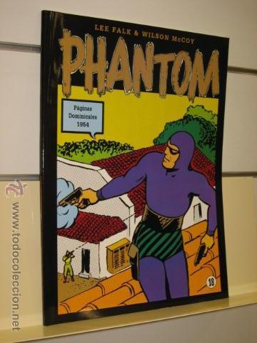 PHANTOM HOMBRE ENMASCARADO TOMO Nº 18 PAGINAS DOMINICALES 1954 MAGERIT OFERTA (Tebeos y Comics - Magerit - Phantom)