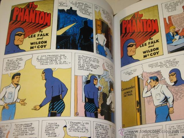 Cómics: PHANTOM HOMBRE ENMASCARADO TOMO Nº 18 PAGINAS DOMINICALES 1954 MAGERIT OFERTA - Foto 3 - 167663632