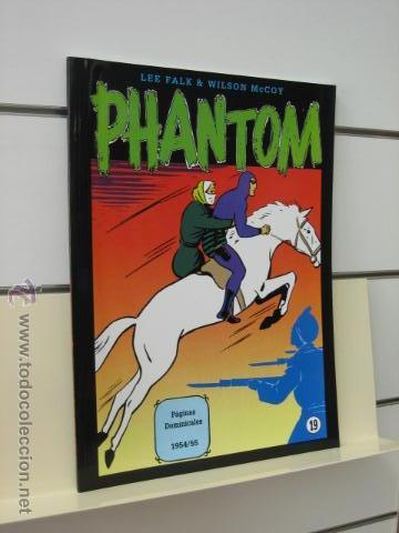 PHANTOM HOMBRE ENMASCARADO TOMO Nº 19 PAGINAS DOMINICALES 1954/55 MAGERIT OFERTA (Tebeos y Comics - Magerit - Phantom)