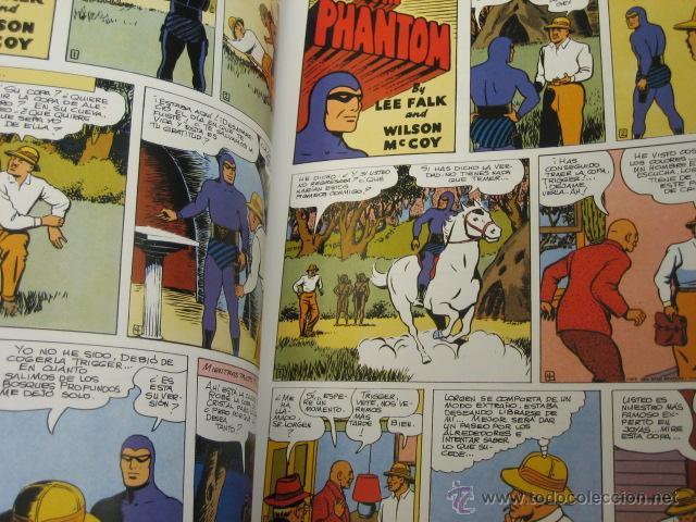 Cómics: PHANTOM HOMBRE ENMASCARADO TOMO Nº 19 PAGINAS DOMINICALES 1954/55 MAGERIT OFERTA - Foto 2 - 191640936