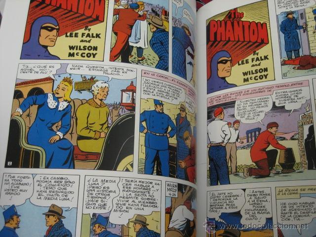 Cómics: PHANTOM HOMBRE ENMASCARADO TOMO Nº 19 PAGINAS DOMINICALES 1954/55 MAGERIT OFERTA - Foto 3 - 191640936