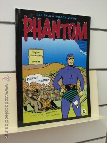 PHANTOM HOMBRE ENMASCARADO TOMO Nº 20 PAGINAS DOMINICALES 1955/56 MAGERIT OFERTA (Tebeos y Comics - Magerit - Phantom)