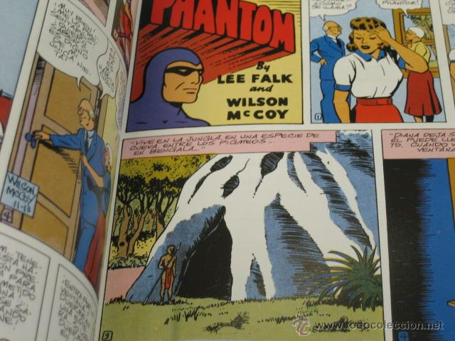 Cómics: PHANTOM HOMBRE ENMASCARADO TOMO Nº 20 PAGINAS DOMINICALES 1955/56 MAGERIT OFERTA - Foto 2 - 191640980