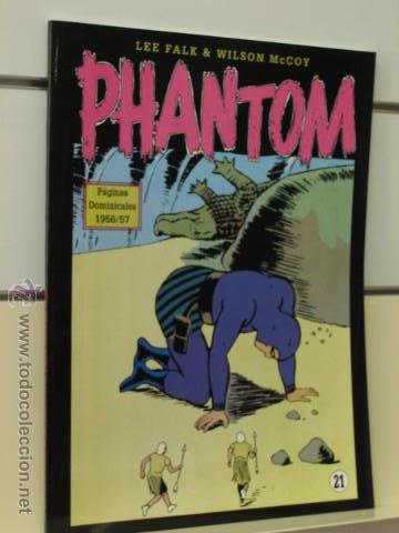 PHANTOM HOMBRE ENMASCARADO TOMO Nº 21 PAGINAS DOMINICALES 1956/57 MAGERIT OFERTA (Tebeos y Comics - Magerit - Phantom)