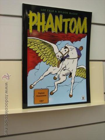 PHANTOM HOMBRE ENMASCARADO TOMO Nº 22 PAGINAS DOMINICALES 1957 MAGERIT OFERTA (Tebeos y Comics - Magerit - Phantom)