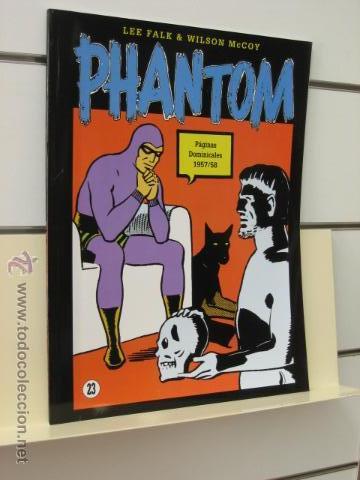 PHANTOM HOMBRE ENMASCARADO TOMO Nº 23 PAGINAS DOMINICALES 1957/58 MAGERIT OFERTA (Tebeos y Comics - Magerit - Phantom)
