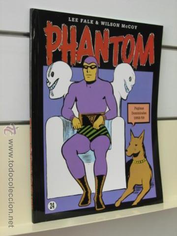 PHANTOM HOMBRE ENMASCARADO TOMO Nº 24 PAGINAS DOMINICALES 1958/59 MAGERIT OFERTA (Tebeos y Comics - Magerit - Phantom)