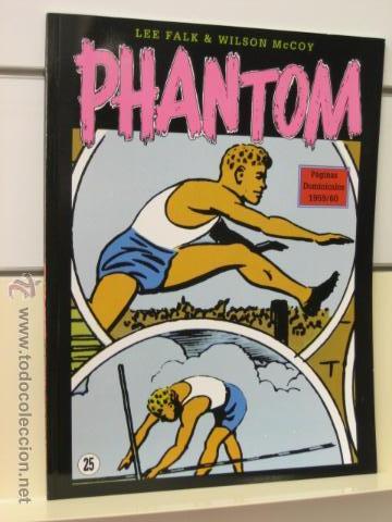 PHANTOM HOMBRE ENMASCARADO TOMO Nº 25 PAGINAS DOMINICALES 1959/60 MAGERIT OFERTA (Tebeos y Comics - Magerit - Phantom)