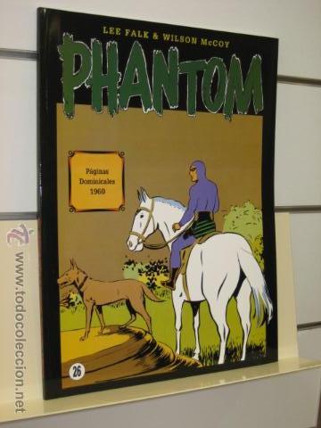 PHANTOM HOMBRE ENMASCARADO TOMO Nº 26 PAGINAS DOMINICALES 1960 MAGERIT OFERTA (Tebeos y Comics - Magerit - Phantom)