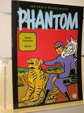 PHANTOM HOMBRE ENMASCARADO TOMO Nº 27 PAGINAS DOMINICALES 1960/61 MAGERIT OFERTA (Tebeos y Comics - Magerit - Phantom)