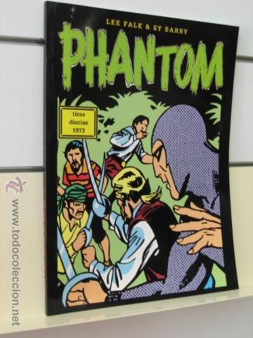 PHANTOM HOMBRE ENMASCARADO TOMO Nº 44 TIRAS DIARIAS 1973 MAGERIT OFERTA (Tebeos y Comics - Magerit - Phantom)
