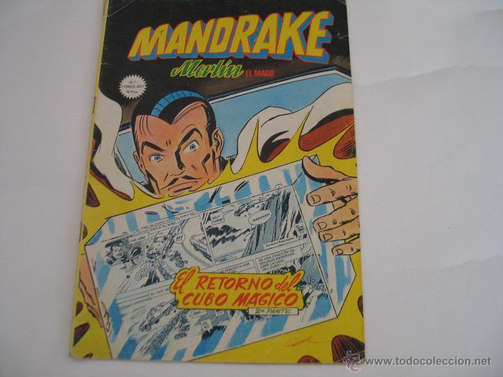 MANDRAKE 7 (Tebeos y Comics - Magerit - Mandrake)