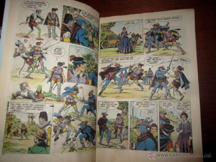 Cómics: EL HOMBRE ENMASCARADO (PHANTOM) con DON QUIJOTE DE LA MANCHA, en SUECO. 1992 - Foto 3 - 49969875