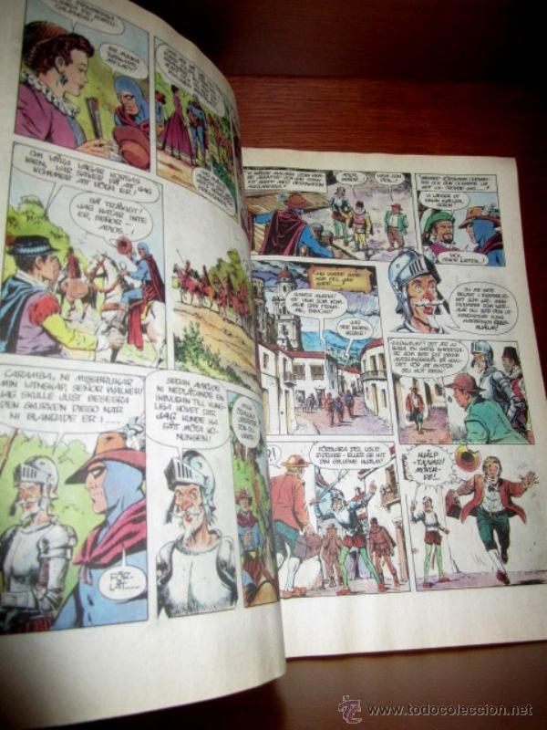 Cómics: EL HOMBRE ENMASCARADO (PHANTOM) con DON QUIJOTE DE LA MANCHA, en SUECO. 1992 - Foto 5 - 49969875